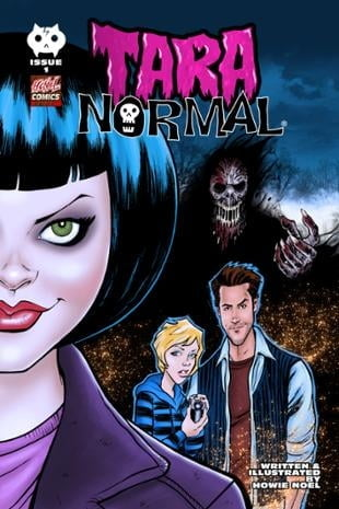 HCNoel Comics | Tara Normal #1 | Spinwhiz Comics