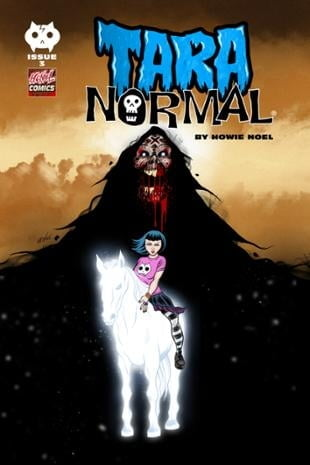 HCNoel Comics | Tara Normal #3 | Spinwhiz Comics