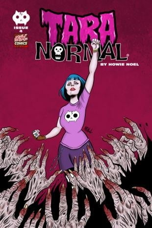 HCNoel Comics | Tara Normal #4 | Spinwhiz Comics