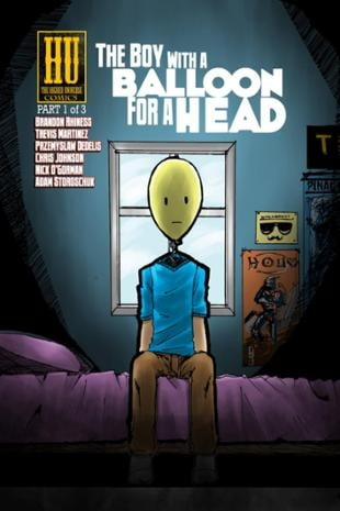 Higher Universe Comics | The Boy with a Balloon for a Head #1 | Spinwhiz Comics