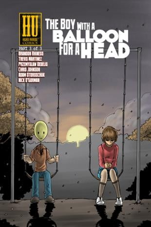Higher Universe Comics | The Boy with a Balloon for a Head #3 | Spinwhiz Comics