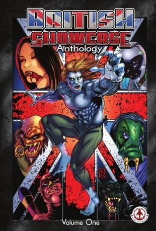 Markosia | British Showcase Anthology Volume 1 | Spinwhiz Comics