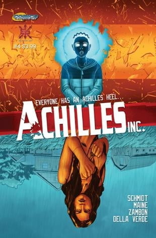 Source Point Press | Achilles, Inc #4 | Spinwhiz Comics