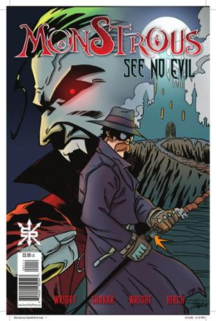 Source Point Press | Monstrous: See No Evil #9 | Spinwhiz Comics