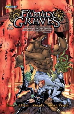 Source Point Press | The Family Graves #4 | Spinwhiz Comics