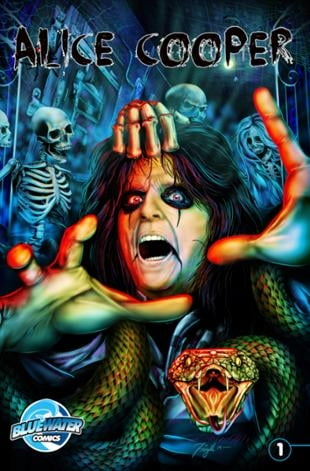 TidalWave | Orbit: Alice Cooper #1 | Spinwhiz Comics