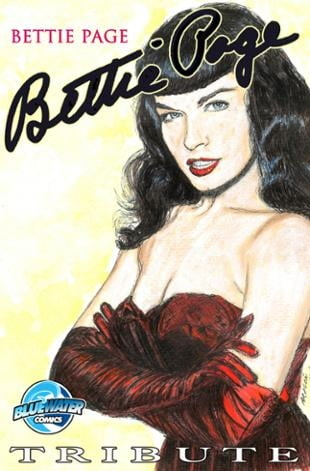 TidalWave | Tribute: Bettie Page #1 | Spinwhiz Comics