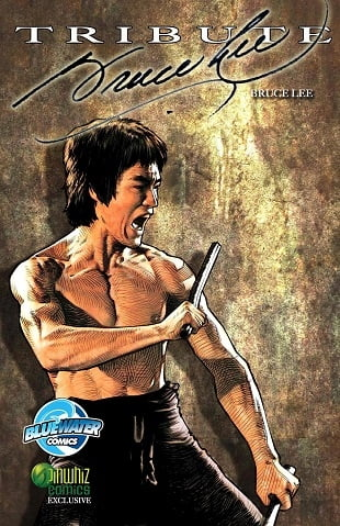 TidalWave | Tribute: Bruce Lee #1 | Spinwhiz Comics